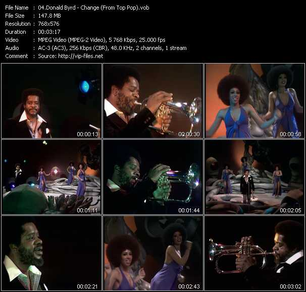 Donald Byrd video screenshot