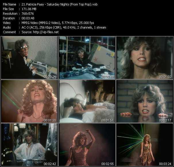Patricia Paay video screenshot