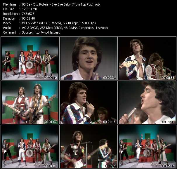 Bay City Rollers video screenshot