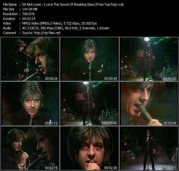 Nick Lowe video screenshot