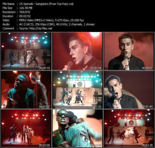 Specials video screenshot