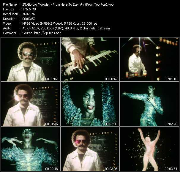 Giorgio Moroder video screenshot
