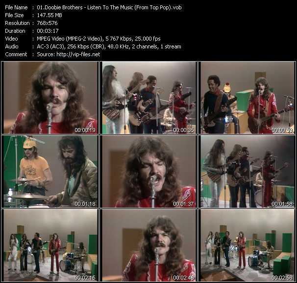 Doobie Brothers video screenshot