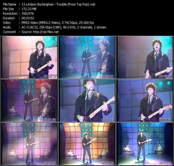 Lindsey Buckingham video screenshot