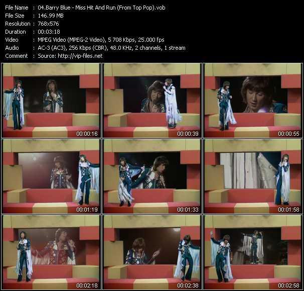Barry Blue video screenshot