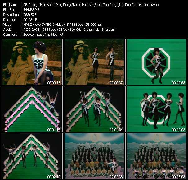 George Harrison video screenshot