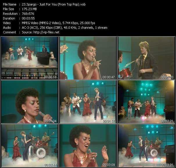 Spargo video screenshot