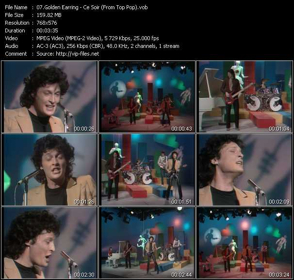 Golden Earring video screenshot