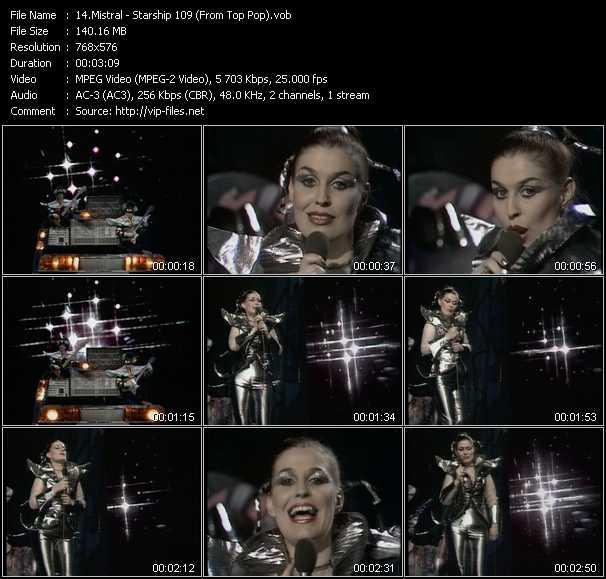 Mistral video screenshot