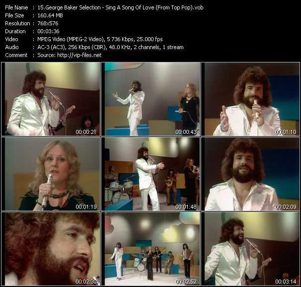 George Baker Selection video screenshot