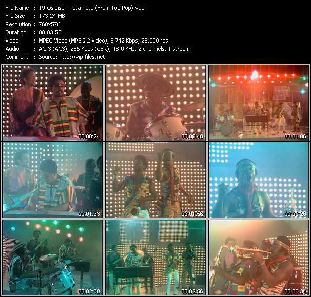 Osibisa video screenshot