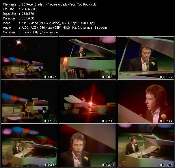 Peter Skellern video screenshot