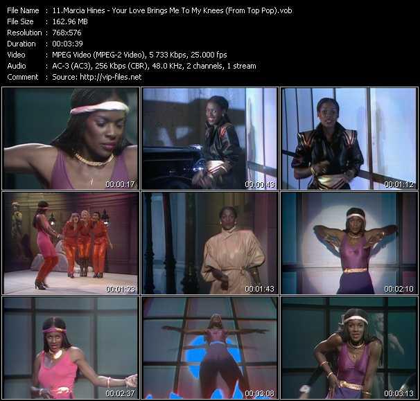 Marcia Hines video screenshot