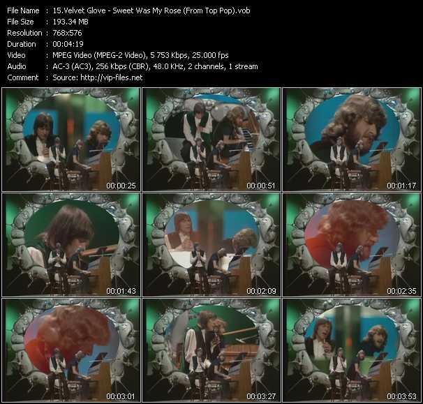 Velvet Glove video screenshot
