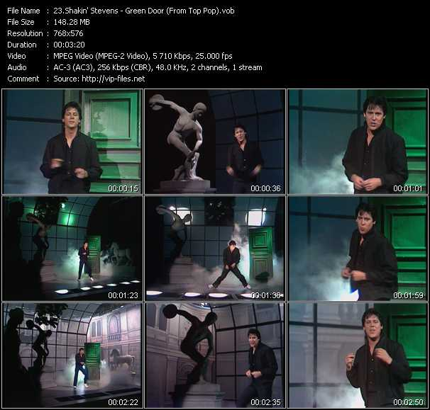 Shakin' Stevens video screenshot