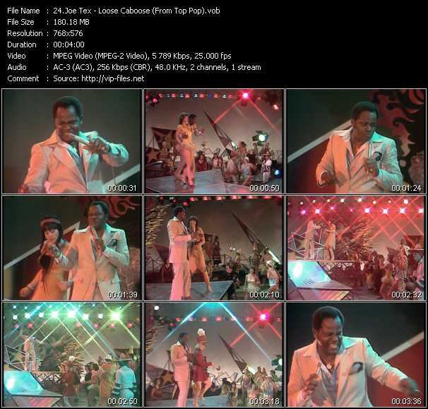 Joe Tex video screenshot