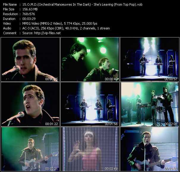 O.M.D. (Orchestral Manoeuvres In The Dark) video screenshot