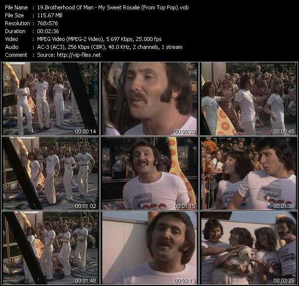 Brotherhood Of Man video screenshot
