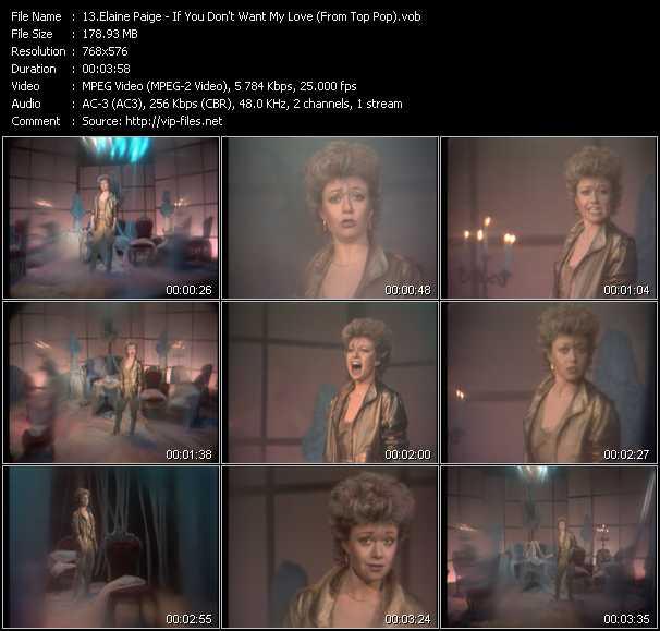 Elaine Paige video screenshot