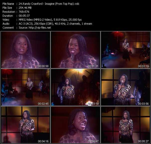 Randy Crawford video screenshot