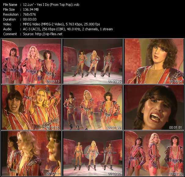 Luv' video screenshot