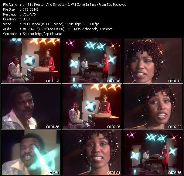 Billy Preston And Syreeta video screenshot