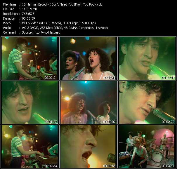 Herman Brood video screenshot