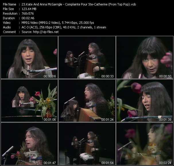 Kate And Anna McGarrigle video screenshot