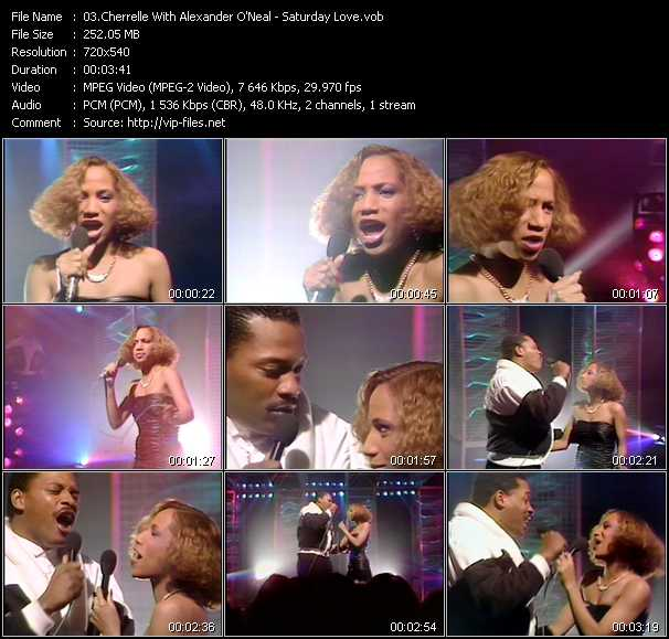 Cherrelle With Alexander O'Neal video screenshot