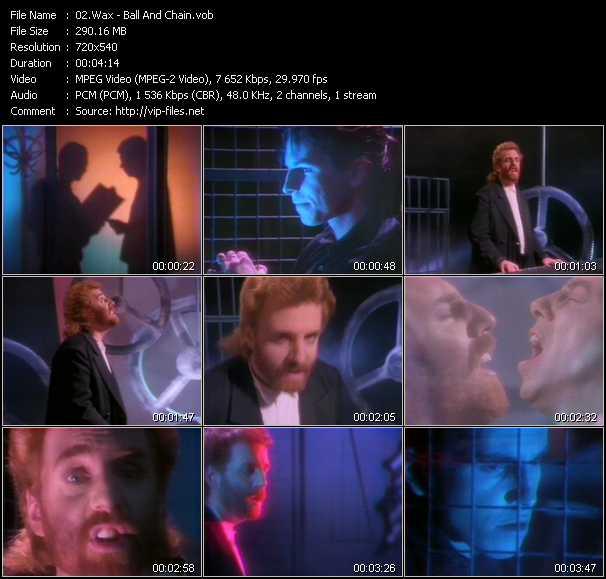 Wax video screenshot