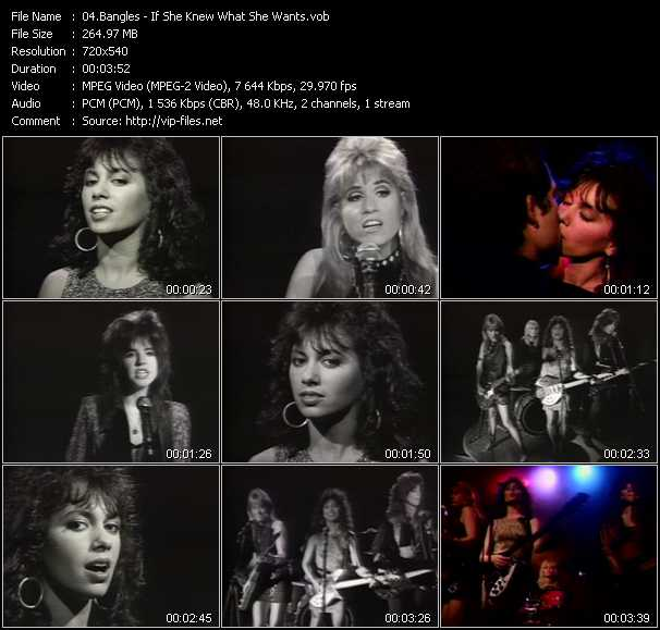 Bangles video screenshot
