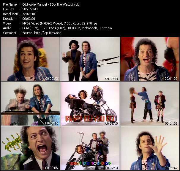Howie Mandel video screenshot