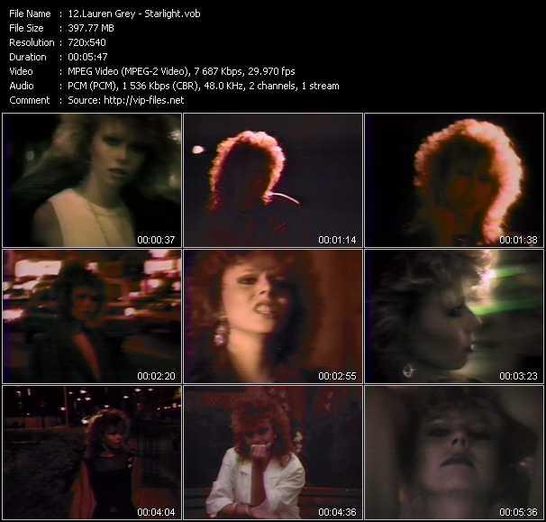 Lauren Grey video screenshot