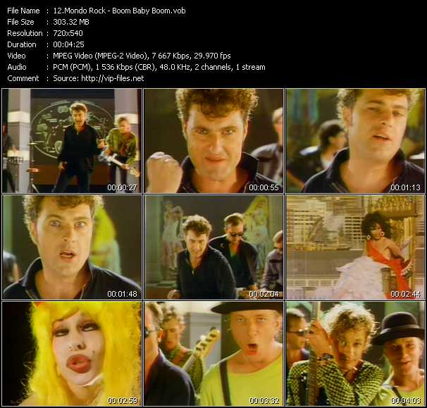 Mondo Rock video screenshot