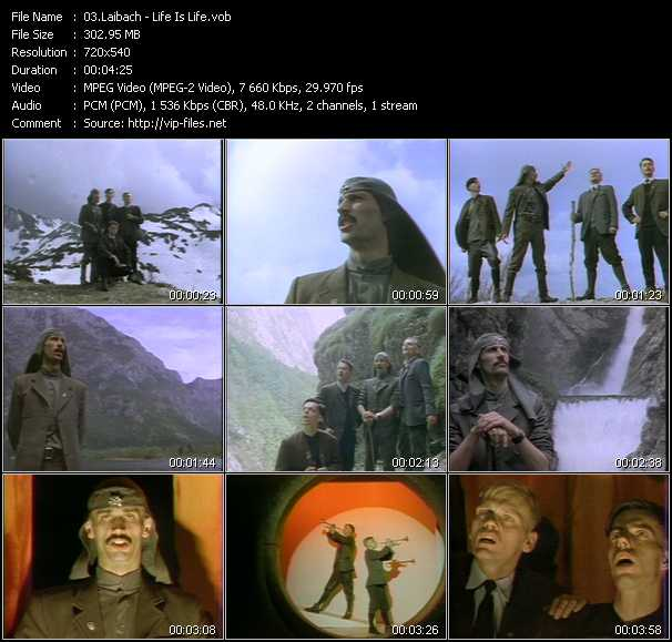 Laibach video screenshot