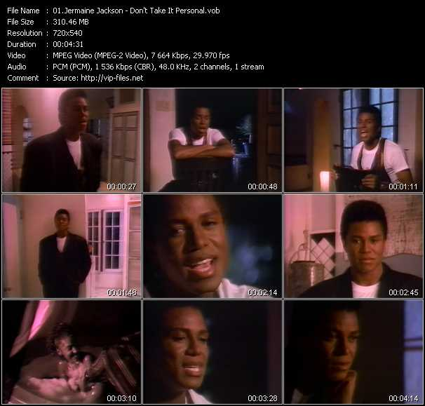 Jermaine Jackson video screenshot