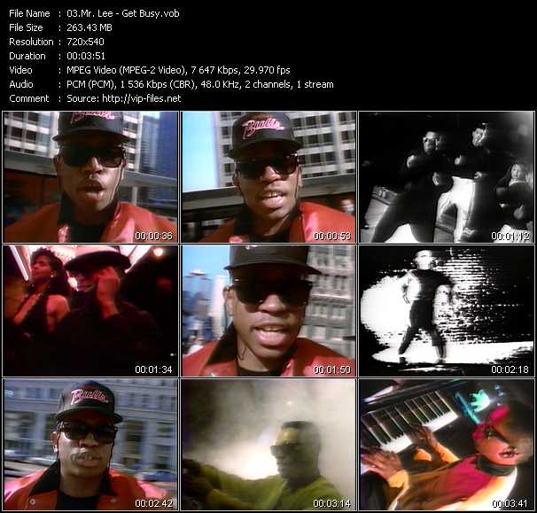Mr. Lee video screenshot