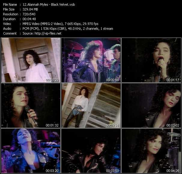 Alannah Myles video screenshot