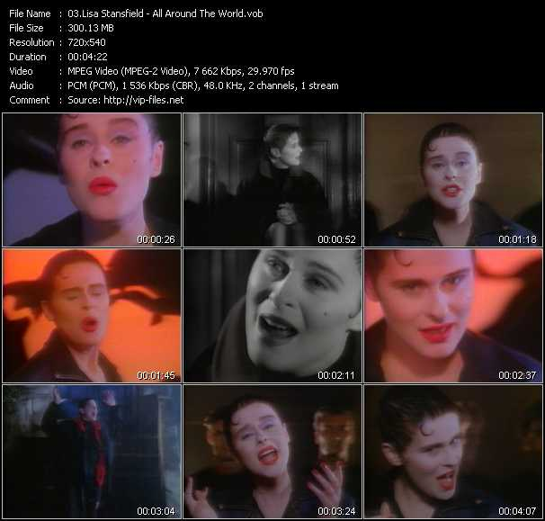 Lisa Stansfield video screenshot
