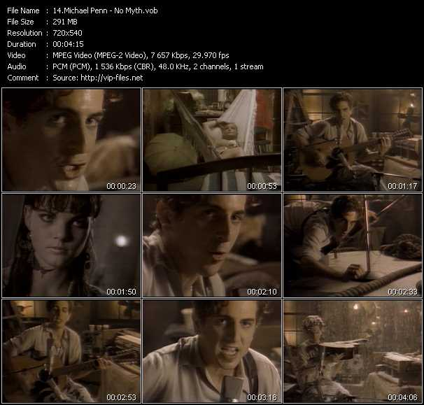Michael Penn video screenshot