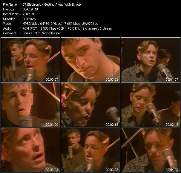Electronic video screenshot