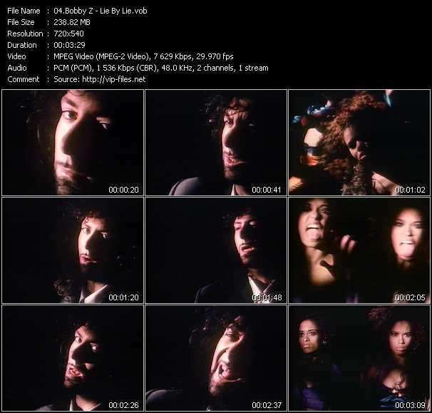Bobby Z video screenshot