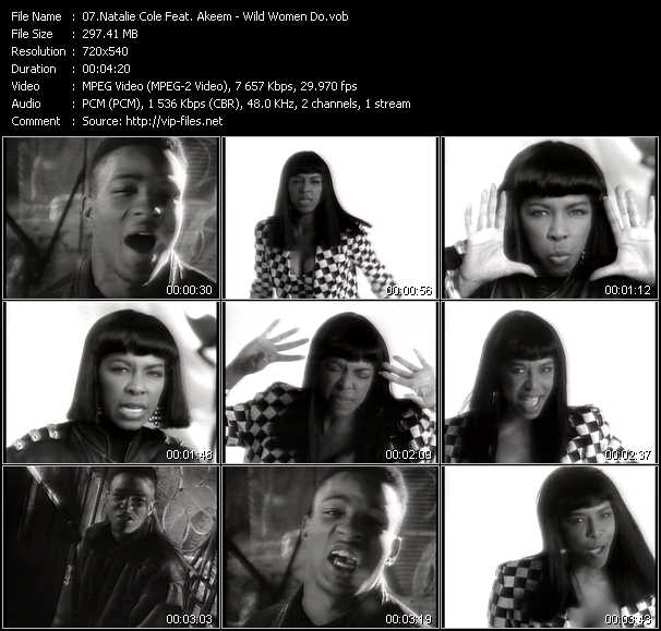 Natalie Cole Feat. Akeem video screenshot