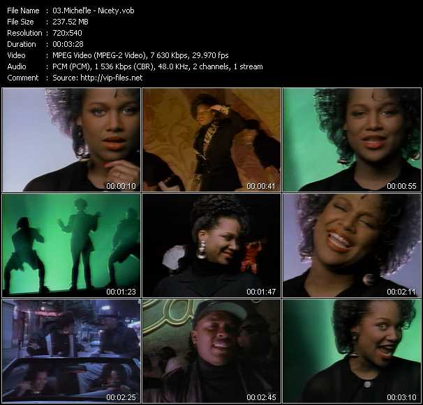 Michel'le Feat. Dr. Dre video screenshot