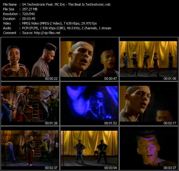 Technotronic Feat. MC Eric video screenshot