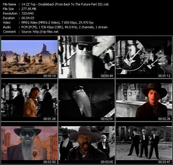 ZZ Top video screenshot