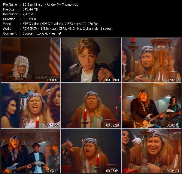 Sam Kinison video screenshot