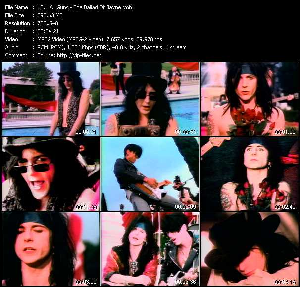 L.A. Guns video screenshot