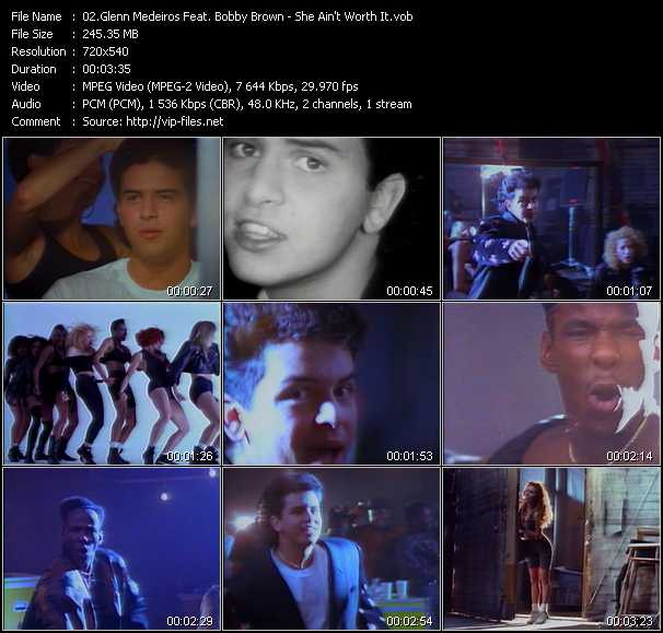 Glenn Medeiros Feat. Bobby Brown video screenshot