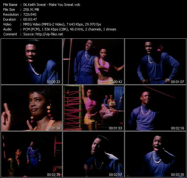 Keith Sweat video screenshot